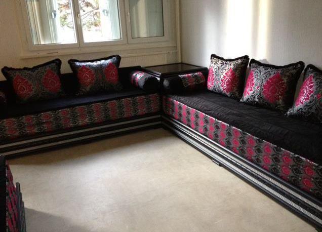 salon marocain traditionnel | Plafond platre | Pinterest