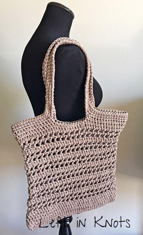Open-Air Market Bag: Free Pattern | Pinterest | Handarbeiten