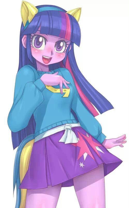 My little pony mlp twilight sparkle mlp pinterest les dessins dessin et humain - My little pony en humain ...