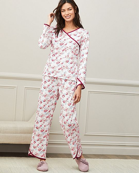 Asian Wrap Organic Cotton Pajamas L d6324c54d
