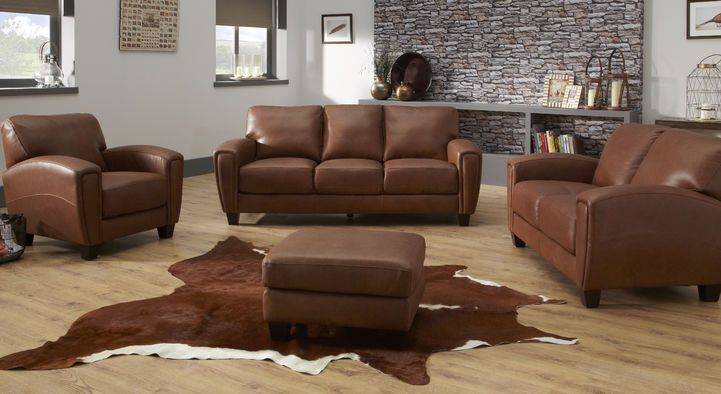 Great The Linea Buffalo 3 Seater Sofa Combines Stylish Leather Designs, Pocket  Coil Foam With Fibre Wrap Seat Interiors And Sleek Wood Feet.