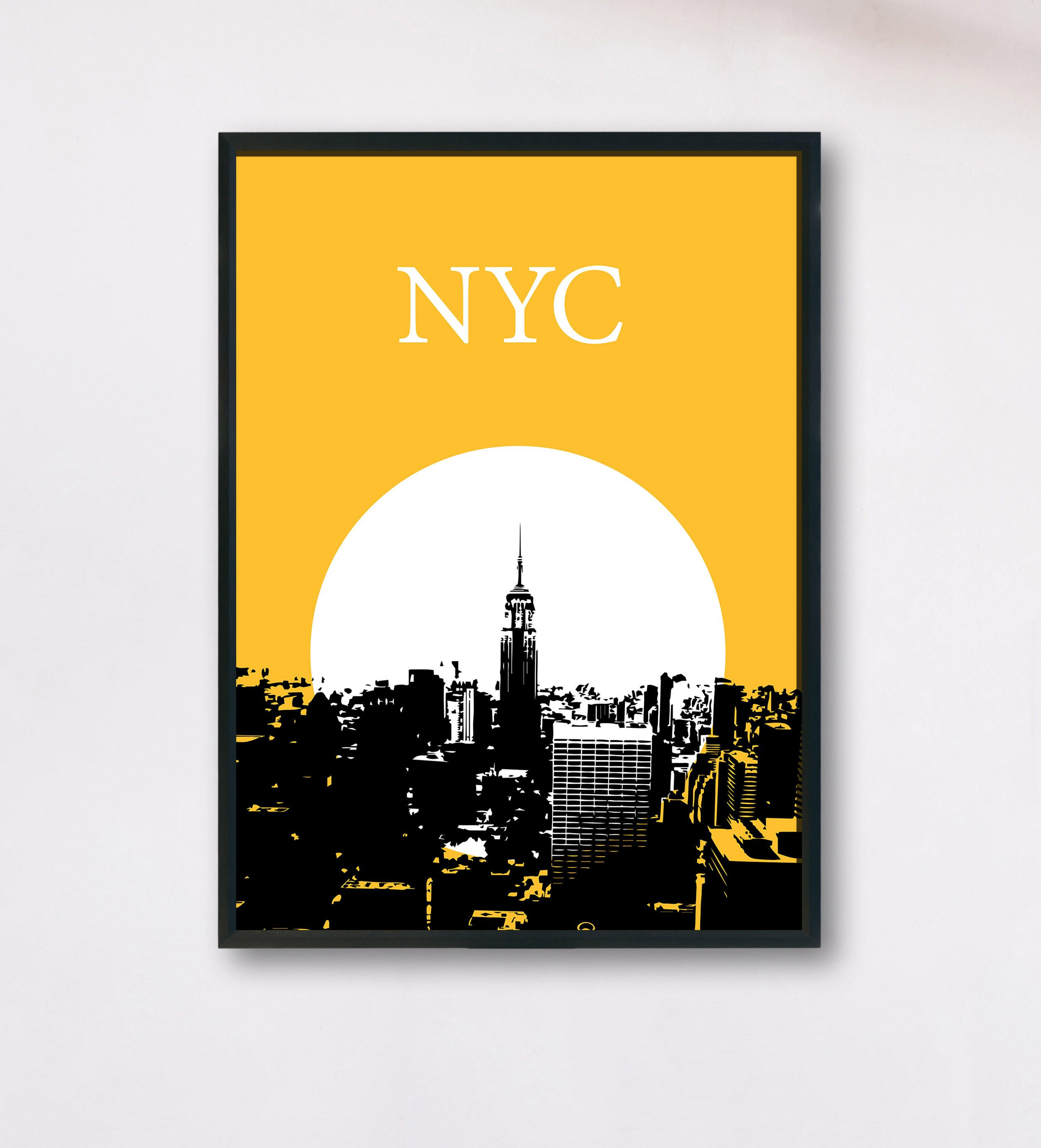 Excited to share the latest addition to my #etsy shop: NYC Poster ...