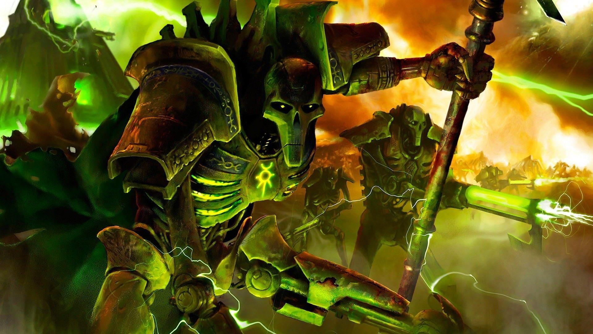 Necrons Warhammer 40k Wallpaper