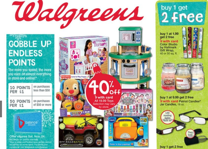 Check out the 3 day walgreens black friday ad for 2012