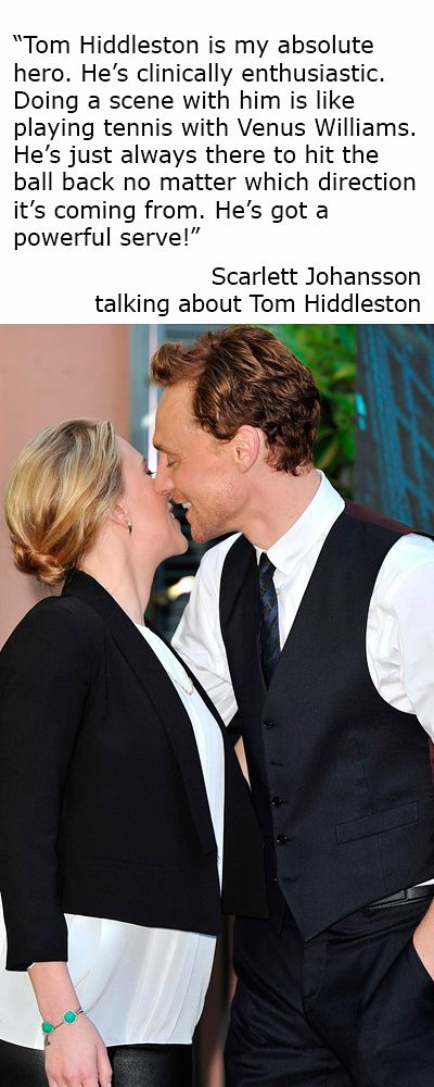 Tom hiddleston talks dating