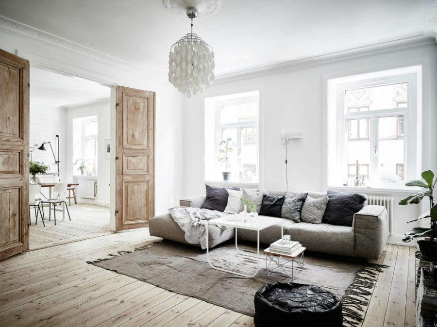 Scandinavian Interior Design Characteristics Apartment Interior Living Room Scandinavian Scandinavian Design Living Room