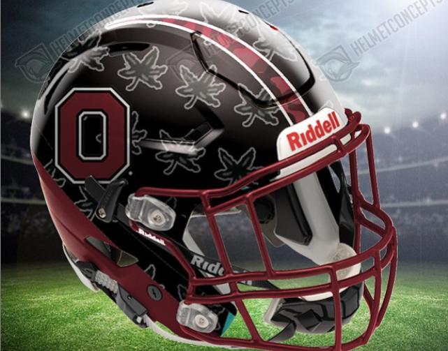 Photo New Ohio State Concept Football Helmet Designs