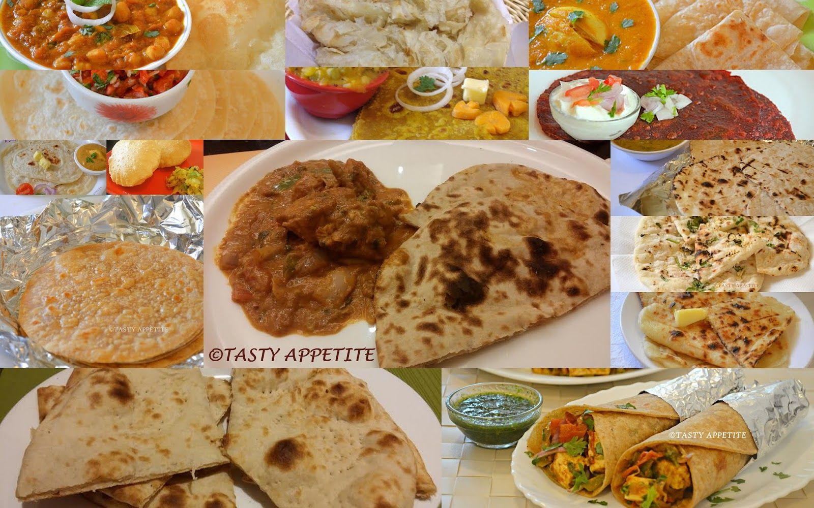 Tasty appetite roti recipes roti chapathi naan recipes tasty appetite roti recipes roti chapathi naan recipes quick indian bread forumfinder Gallery