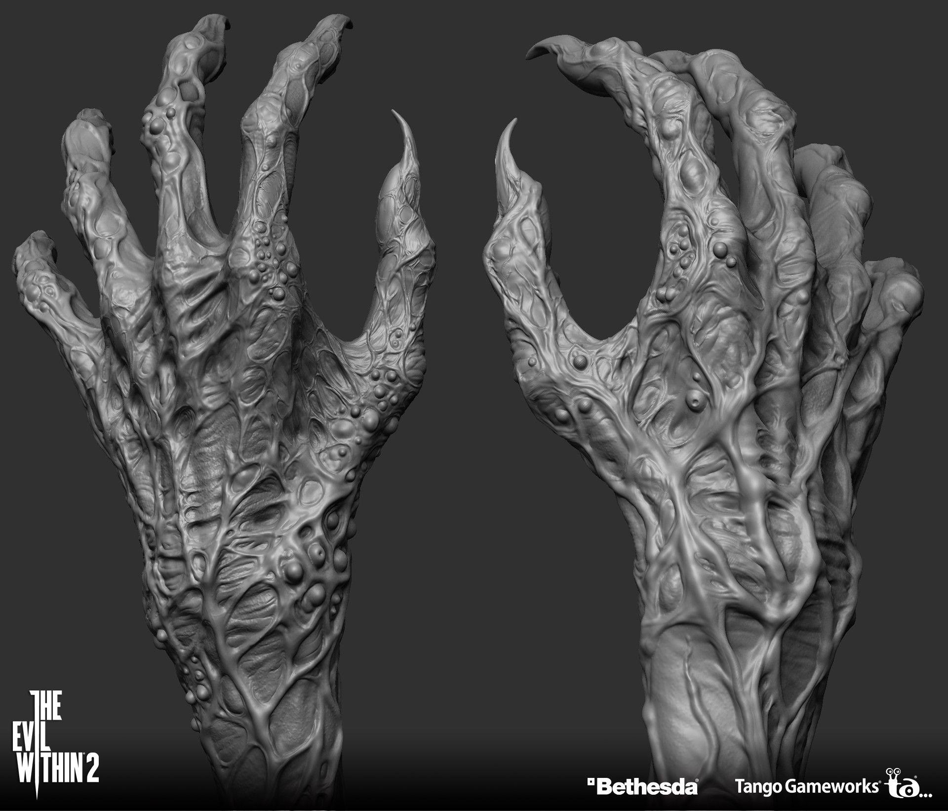 Artstation The Evil Within2 Matriarch Yosuke Ishikawa In 2020 Alien Concept Art Anatomy Art Sculpting