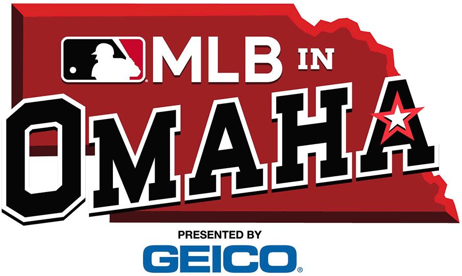 Major League Baseball Special Event Logo 2019 2019 Mlb In Omaha Logo Game Played Between The Kansas City Roy Event Logo Major League Baseball Major League