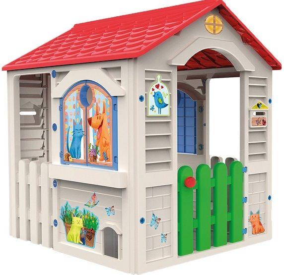 Casita infantil jardin, country - chicos 89607