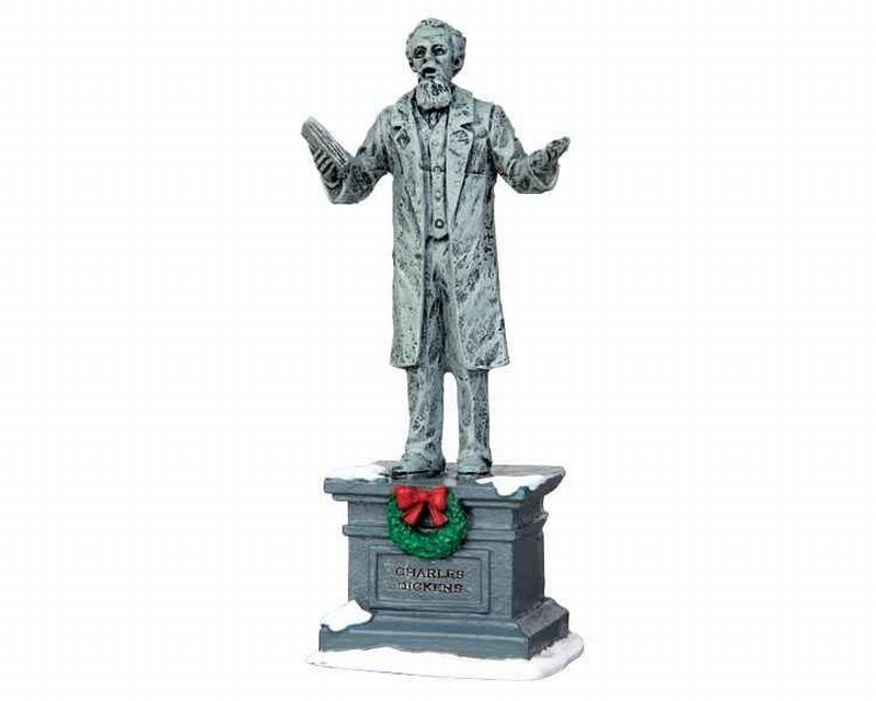 Lemax Dickens Statue