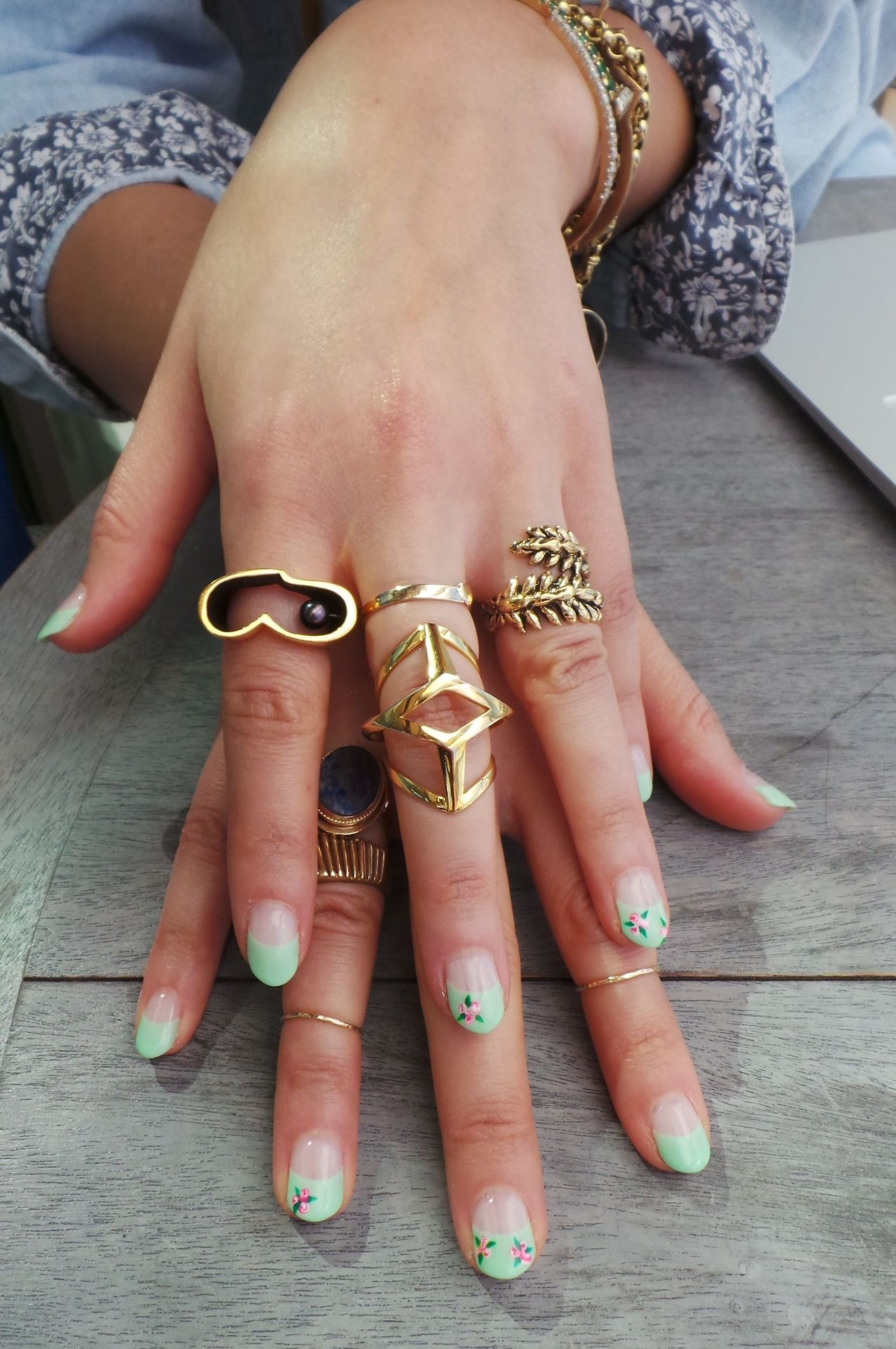 edie new york likes the mix, fun style #fingerparty, rings, jewelry ...