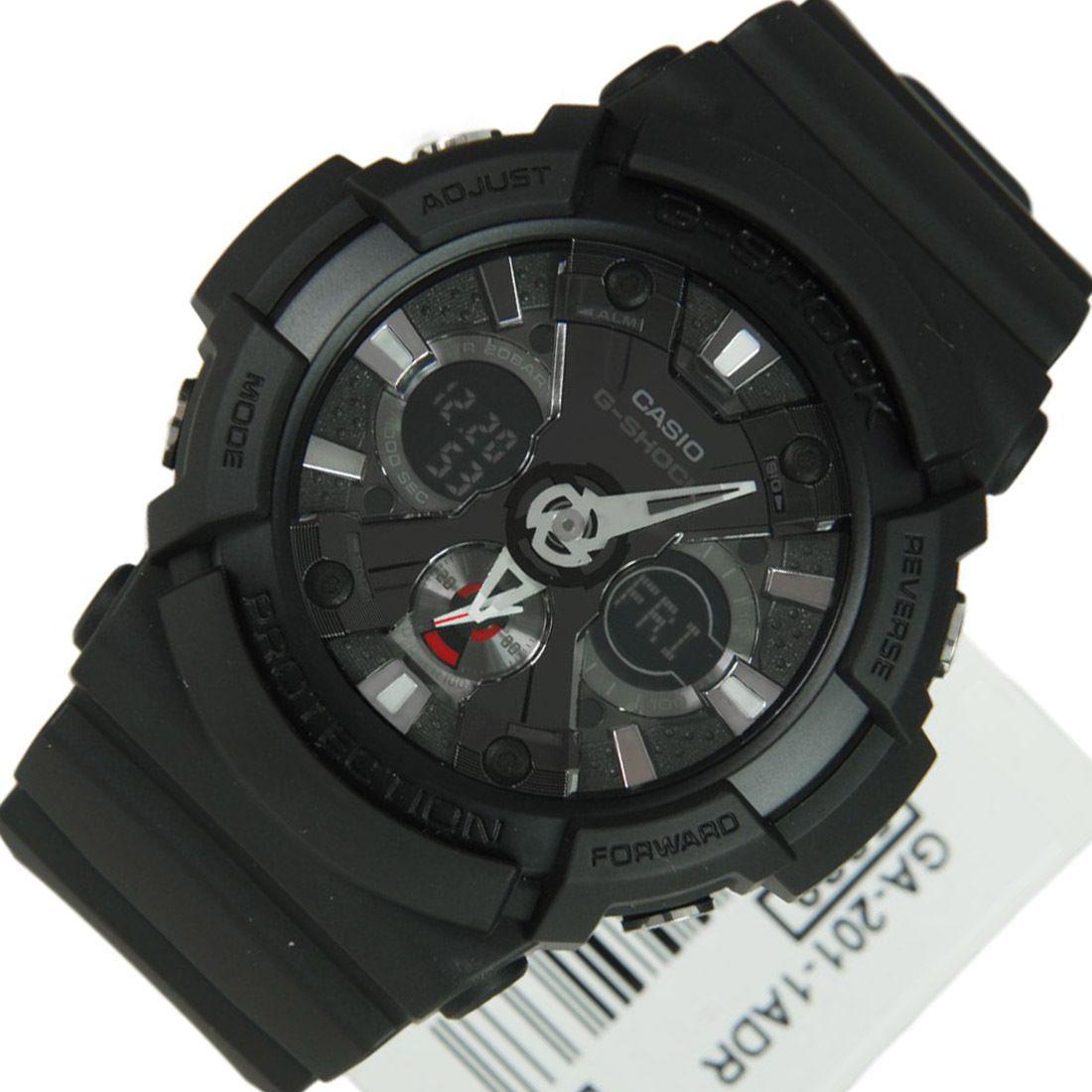 Chronograph-Divers.com - GA-201-1A Casio G-Shock Quartz WR200m Black Analog Digital Mens Watch, $100.00 (http://www.chronograph-divers.com/ga-201-1adr/)