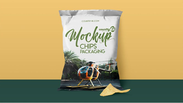 Download Useful Photorealistic Chips Packaging Psd Mockup Free Mockup Chip Packaging Mockup