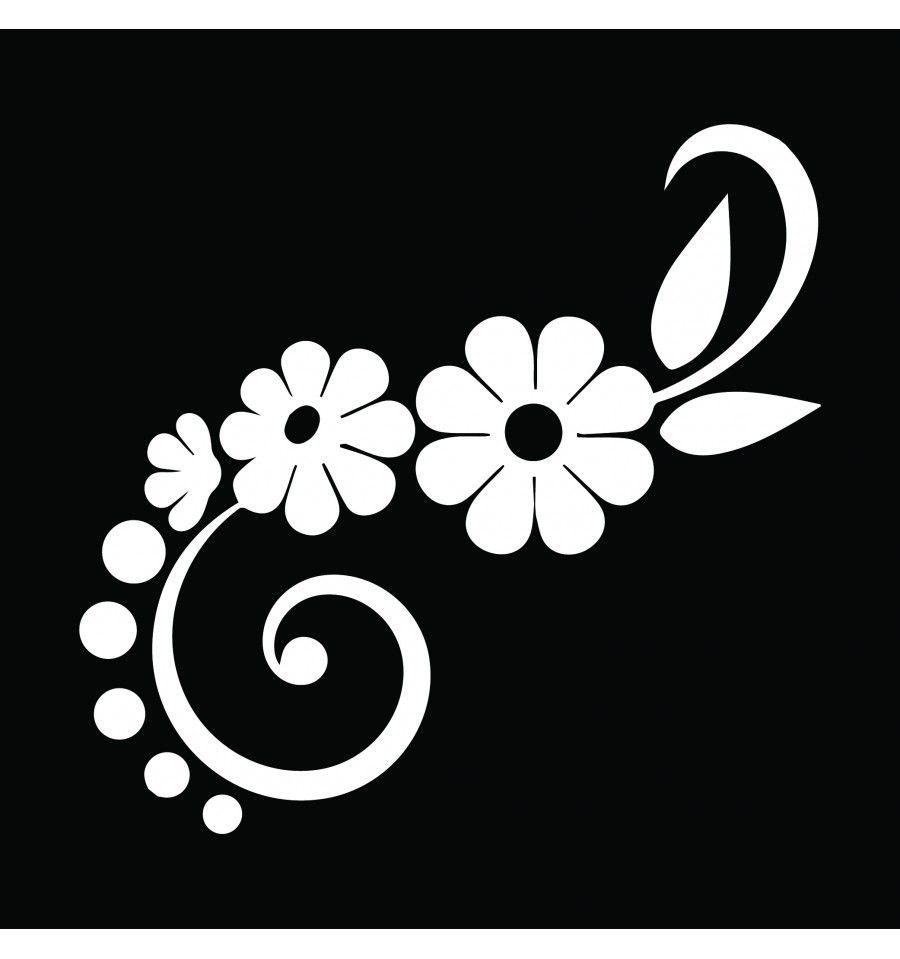 Pochoir mural fleur a imprimer gratuit photo pictures to - Fleur a imprimer gratuit ...