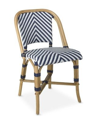 Parisian Bistro Woven Side Chair - would love 6 of these for the ...