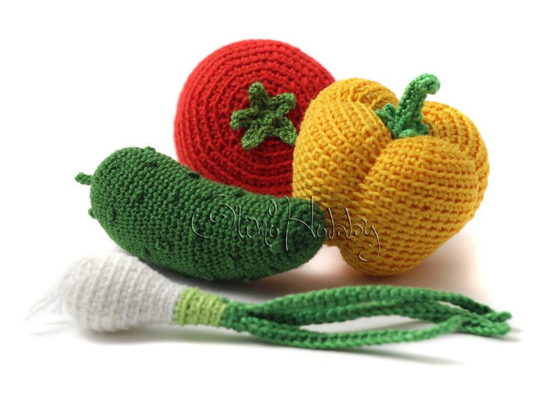 Amigurumi Vegetable Patterns : Carrot crochet pattern pdf crochet carrot pattern amigurumi