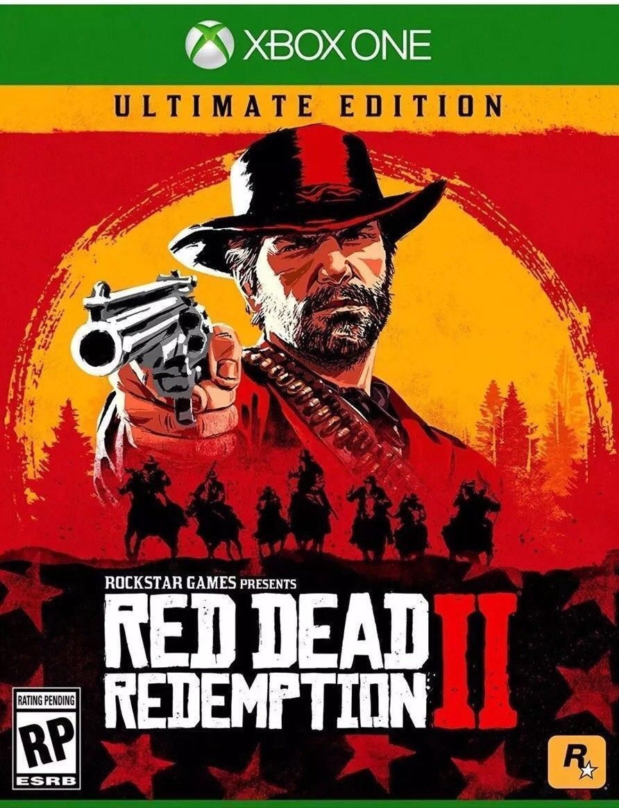 Rdr2red Dead Redemption 2 Ultimate Edition Xboxone Rare Xbox 1 Collector S Game Red Dead Redemption Ii Red Dead Redemption Xbox One Games