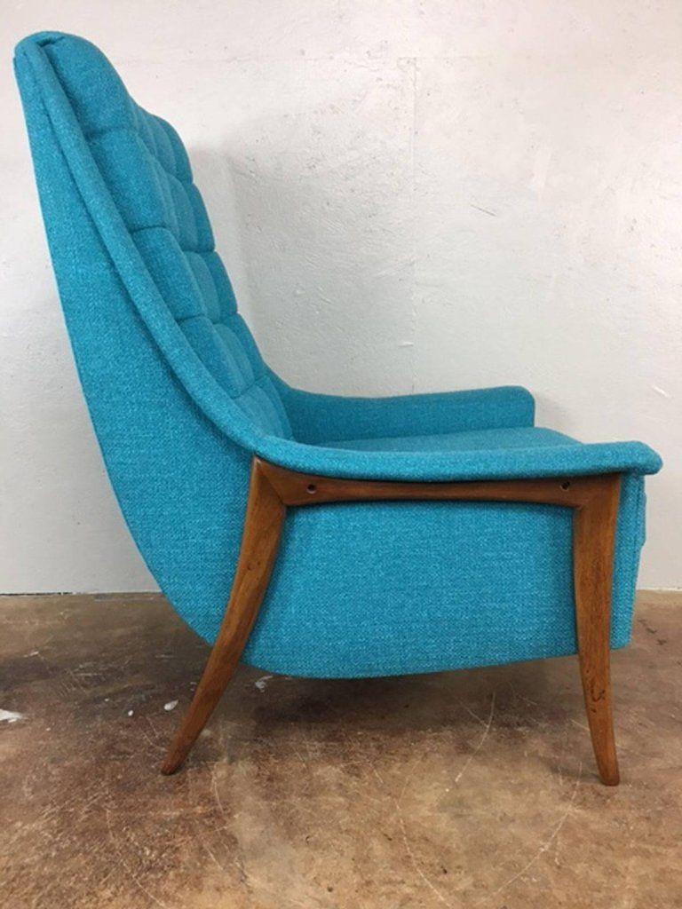 Avanti high back lounge chair 2 mid century furnishings