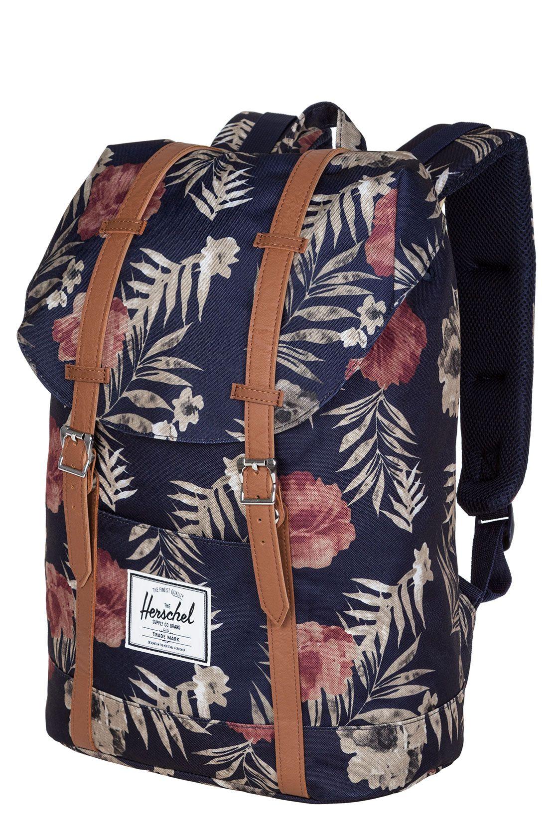 herschel retreat rucksack 19 5l black tan skate styles skatedeluxe backpacks herschel. Black Bedroom Furniture Sets. Home Design Ideas