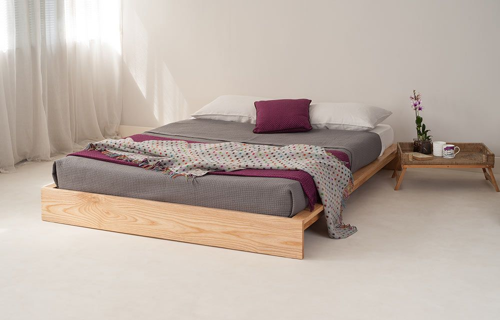The New Ki Bed From Www Naturalbedcompany Co Uk Our Latest Design It Ll Be On Our Website Soon Japanese Style Bedroom Low Loft Beds Scandinavian Bed Frames