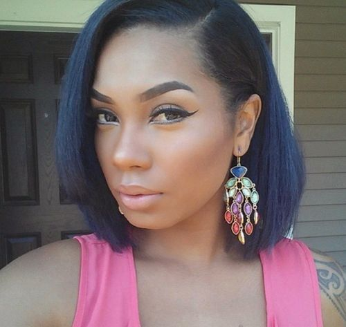 60 Showiest Bob Haircuts for Black Women | Bobs, Black and ...