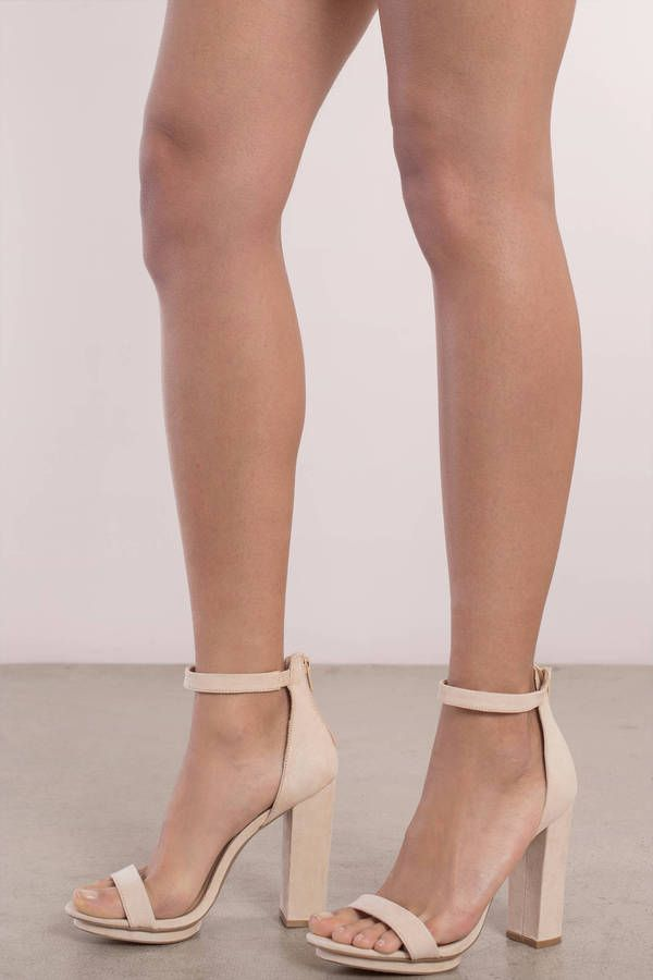 840ff029ea0 Get your hands on the Penelope Ankle Strap Heels. You ll need these in your  life
