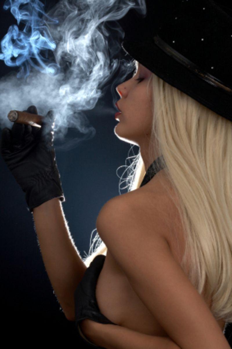 Hottest Cigar Smoking MILF Ever!