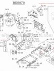Breville Bes870xl Parts List And Diagram Ereplacementparts Com Expressions Breville Diagram