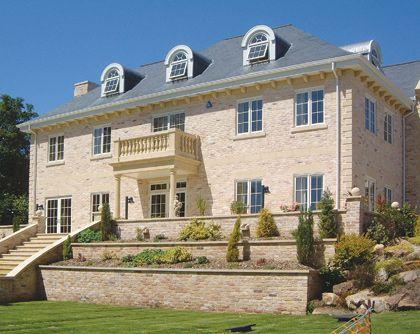 Modern Stone Mansion