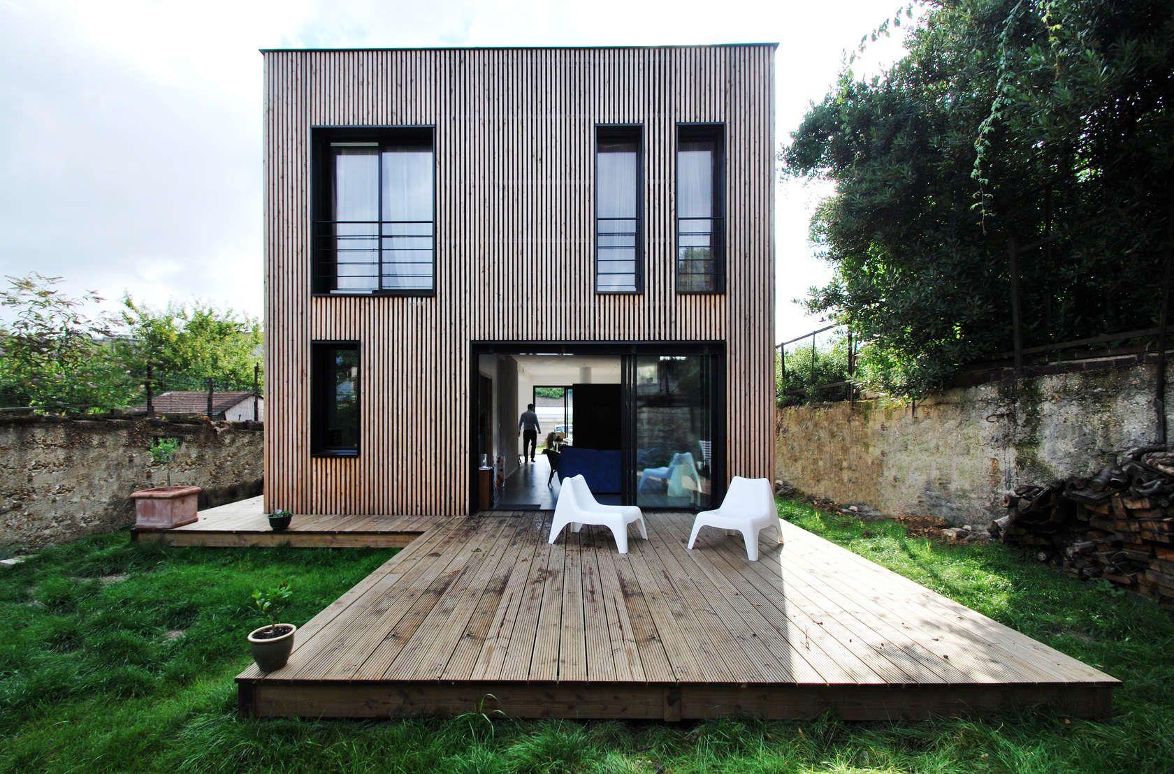 Passive Cube House par SKP Architecture ÉpinaysurSeine