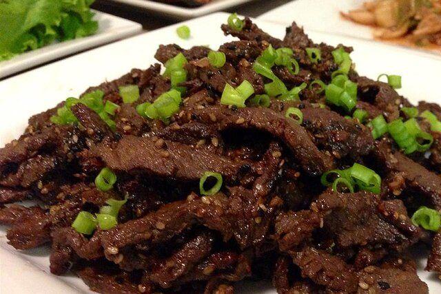 Beef Bulgogi   Recipe in 2020   Bulgogi beef, Bulgogi ...