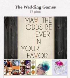 {WEDpinning} The Wedding Games have begun!  Have you voted for your favorite yet?