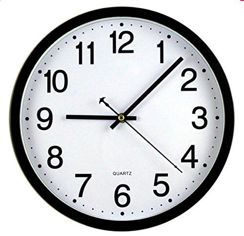 Bekith 12 Inch Silent Non Ticking Wall Clock Black And W Https Www Amazon Com Dp B017yl07ve Ref Cm Sw R Pi Dp Wall Clock Black And White Wall Clock Clock