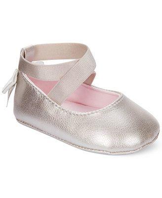 f1ba4af4e3 First Impressions Baby Girls' Ballet Flats   Babies   Girls ballet ...