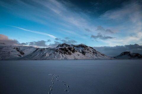 Mountain view by Dagur Jonsson via 500px