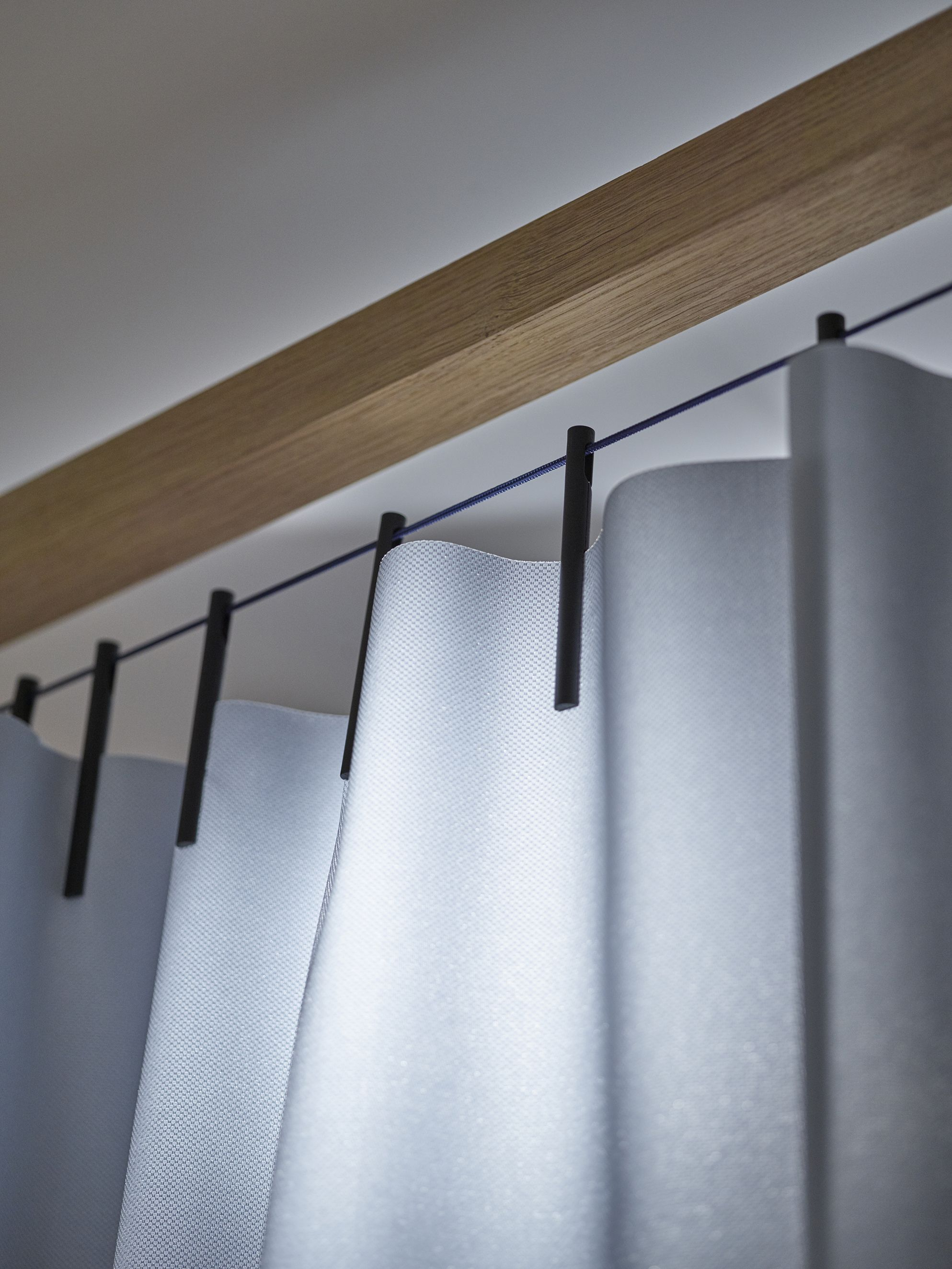 The Ready Made Curtain By Ronan Erwan Bouroullec Lighting Design Interior Curtain Decor Industrial Window Treatments