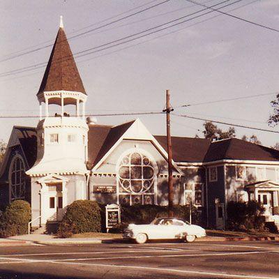 Lincoln Avenue Methodist Church Gothic House Church