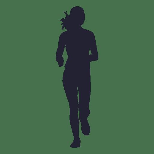 Female Marathon Running Silhouette Ad Ad Paid Marathon Running Silhouette Female Silhouette Images Silhouette Running Silhouette
