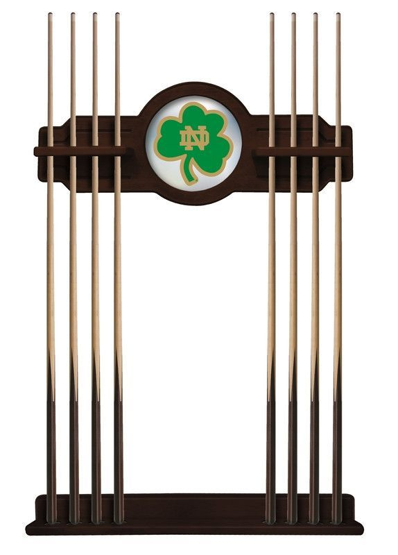 Amazing Cue Rack   Notre Dame (Shamrock)   Notre Dame, Game Rooms And Pool Table