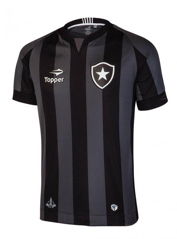 """Camisas do Botafogo 2016 são apresentadas pela """"reestreante"""" Topper - Guia  do Boleiro bb6c52bb1ae35"""
