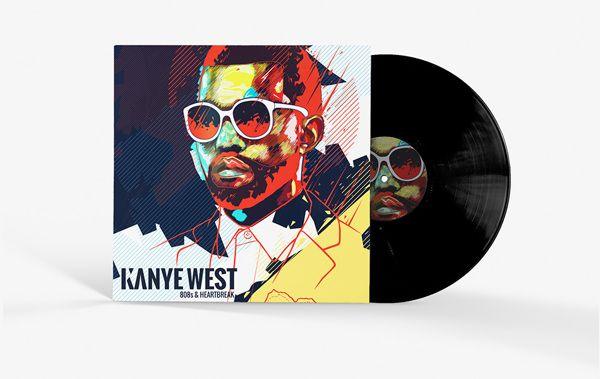 Kanye West Album Artwork By Noem9 Studio Via Behance Kanye West Albums Kanye West Artwork