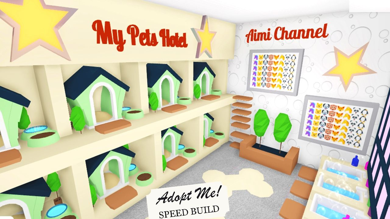 Pet Hotel In Adopt Me Roblox Animal Room Cute Room Ideas Pet Hotel