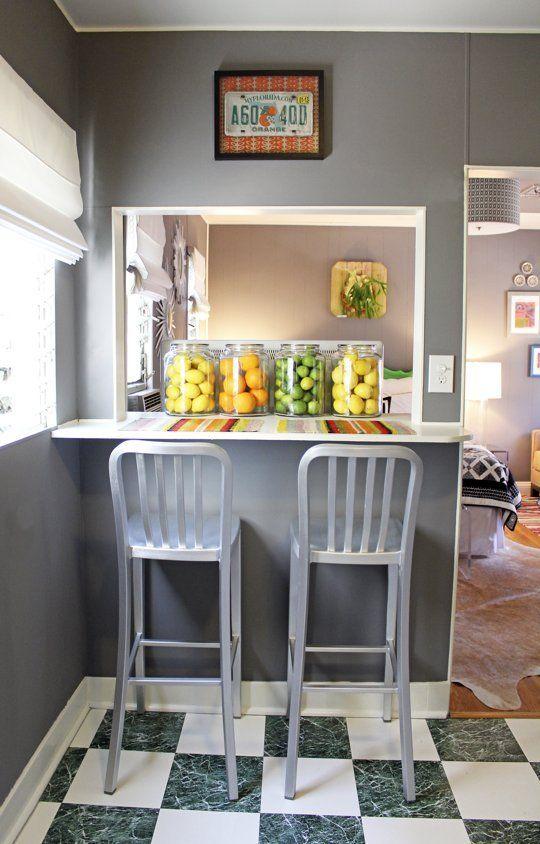 How To Fit A Dining Room Into Small Spaces Id 233 Es Pour La Maison Tabouret De Comptoir Et Maison