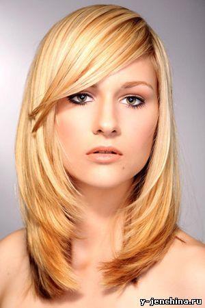 стрижка фото на средние волосы | Стрижка, Укладки для ...