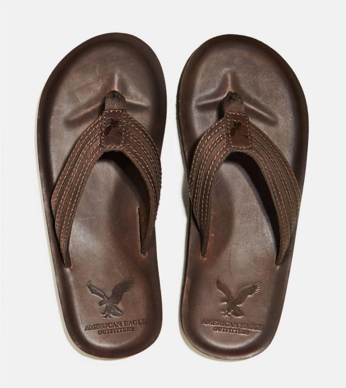 Men's Clearance - Footwear. Men's Flip FlopsLeather Flip FlopsAeoAmerican  Eagle OutfittersLighterCosta RicaBarefootDark ...