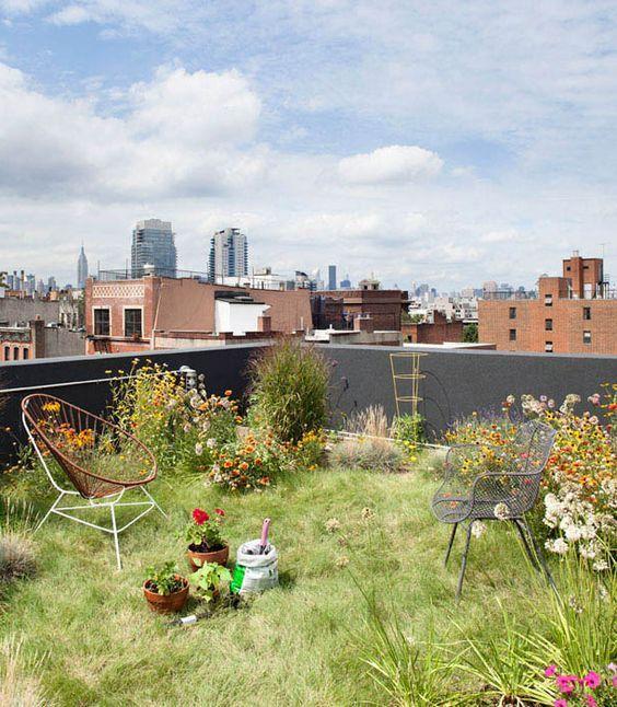 Crea un hermoso jardn en tu terraza