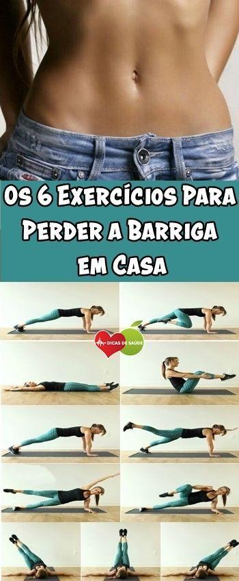 Os 6 Exercicios Para Perder A Barriga Em Casa Exercicio Para