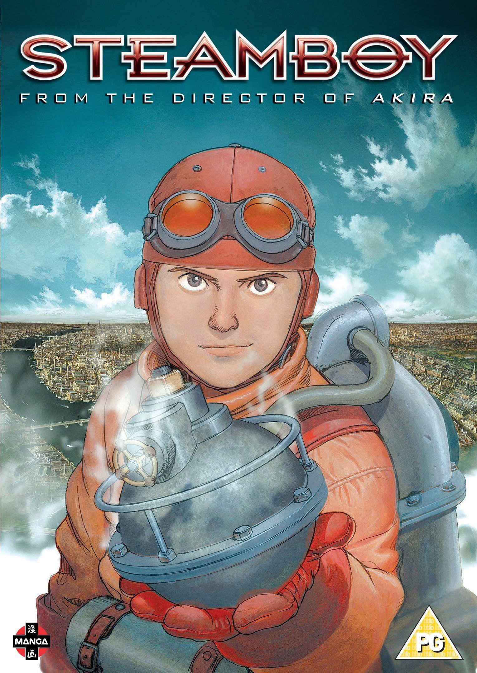 Steamboy - DVD [Reino Unido] #DVD, #Steamboy, #Unido, #Reino (con ...